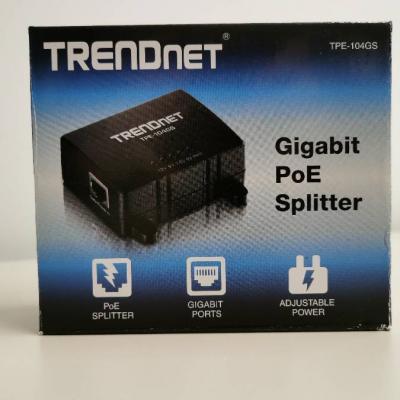 Gigabit PoE Splitter - TRENDNET TPE-104GS - thumb