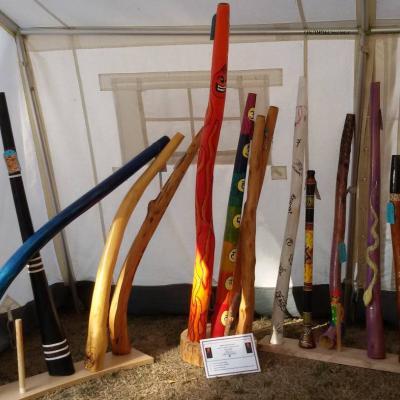 Selbst angefertigte Didgeridoos - thumb