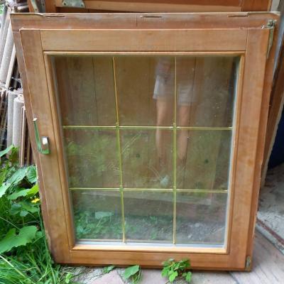 3 Fenster mit Doppelverglasung und Zierleisten - thumb