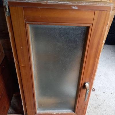 2 Fenster Doppelverglasung und Mattscheibe - thumb