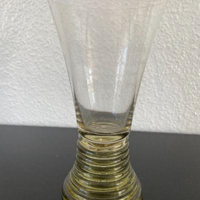 Antiker Weinpokal mit Gravur - thumb