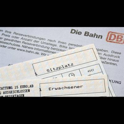 Bahntickets 01.07. MERAN - München/Innsbruck/Frankfurt - thumb