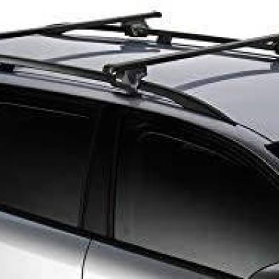 Dachträgerset, Fahrradhalterset 2x und Skihalterset - thumb