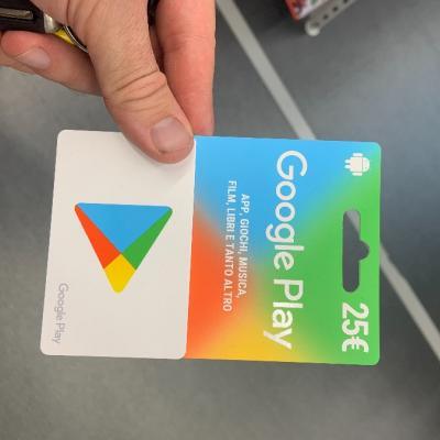 Google Play Card 25 euro - thumb