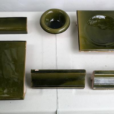 Keramikverkleidung für Kachelofen, Ole - thumb