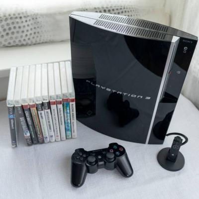 PS3 mit Spielen, Headset - thumb