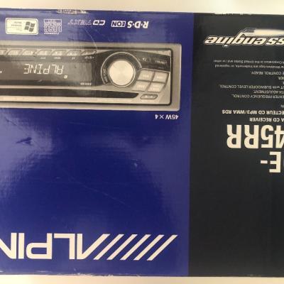 Alpine Autoradio CD-MP3 - thumb