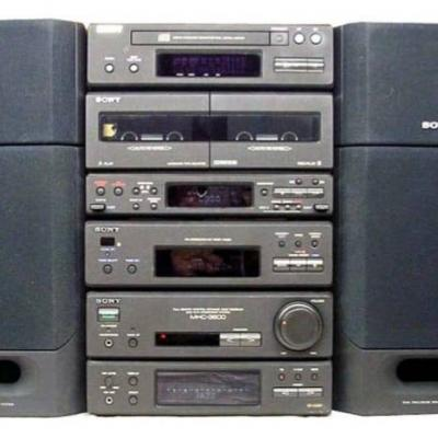 Sony Stereoanlage - thumb