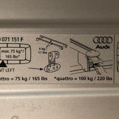 Audi Q5 Dachträger und Fahrradträger - thumb