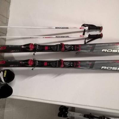 Damen Ski Set Rossingnol - thumb