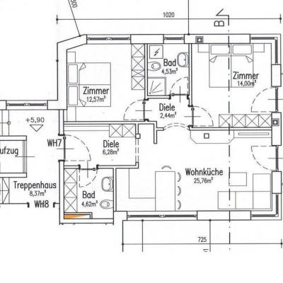 Neuwertige, helle 3-Zimmer-Wohnung in Rodeneck ab sofort zu vermieten - thumb