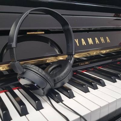 YAMAHA Klavier U 1, schwarz poliert-mit Silent- kostenlose Lieferung! - thumb