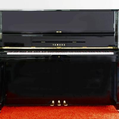 YAMAHA Klavier U 1, schwarz poliert- kostenlose Lieferung! (*) - thumb