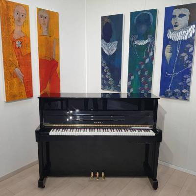 Kawai Klavier mit einem Silent System! Klavierspielen mit Kopfhörer - thumb