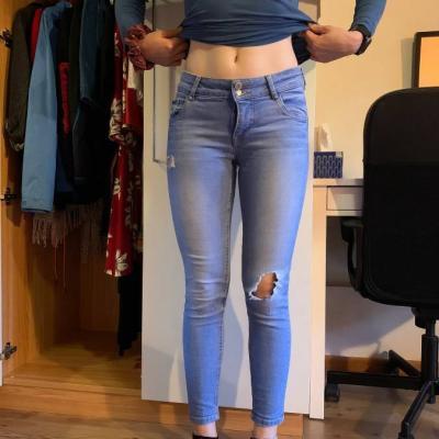 Clock house Denim Skinny Jeans - thumb