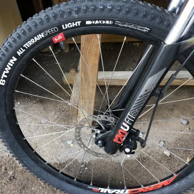 Kaum benutztes Fahrrad - thumb
