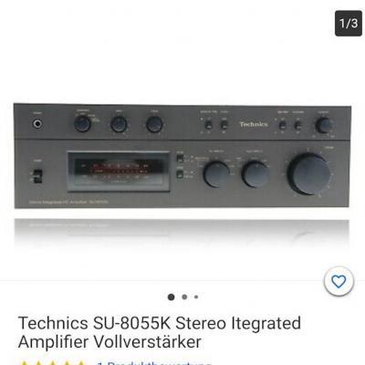 Verstärker TECHNICS SU 8055K - thumb