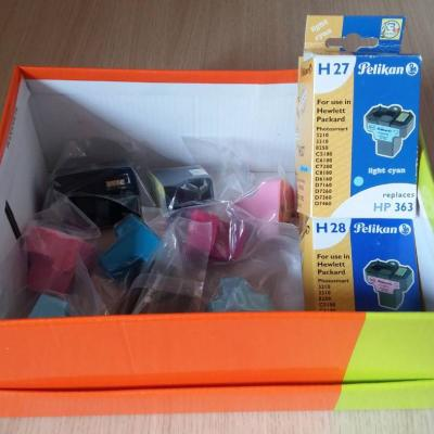 Druckfarben  HP 363 - thumb