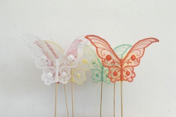 Blumendeko Schmetterling