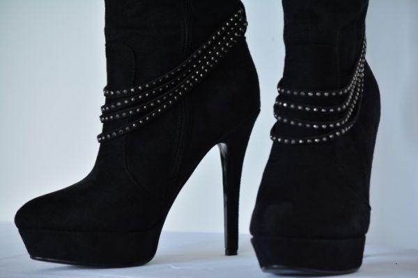 Stiefel/Overknee/High Heels Gr.40