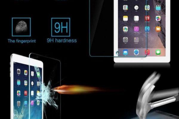 Panzerglas Displayschutzfolie iPad Pro, Air