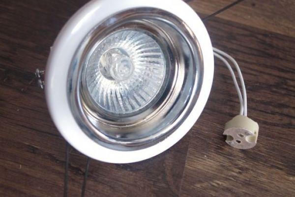 11x Einbaustrahler Chrom Leuchte Lampe LED Halogen