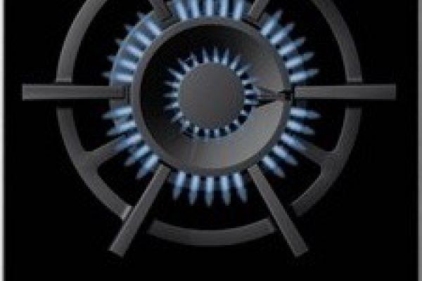 Gas Kochstelle Einbau WOK Siemens-Gebraucht