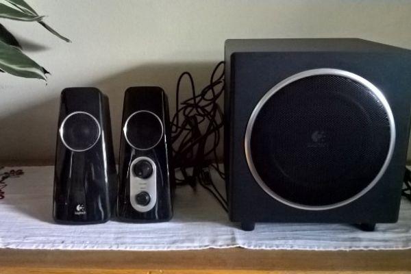 Nochmal günstiger -Lautsprechersystem Logitech Z523 PC wie NEU