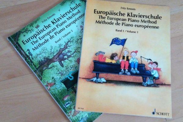 Europäische Klavierschule Band 1&2