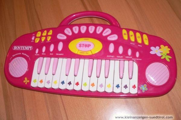 Barbiegitarre und Keyboard Bontempi