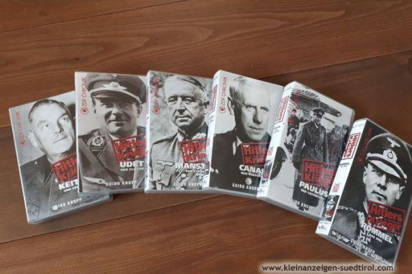 6 VHS Videocassetten Zweiter Weltkrieg