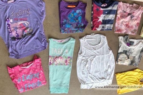 Paket 10 T-Shirt 128-134 cm