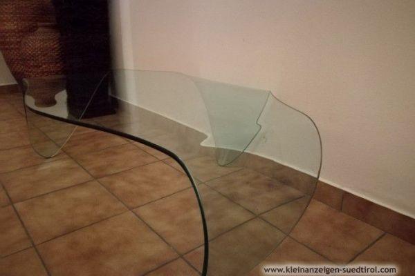 Schönen Glastisch zu verkaufen