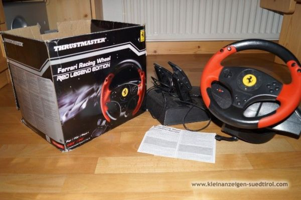 Thrustmaster Ferrari racing wheel
