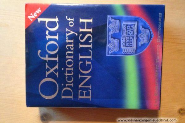 Wörterbuch English Oxford Dictionary of English