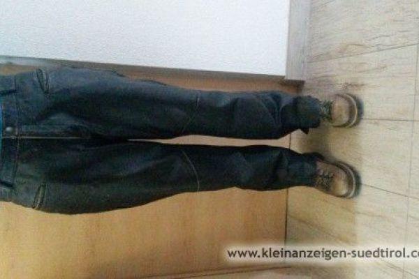 Verkaufe Leder-Motorradhose