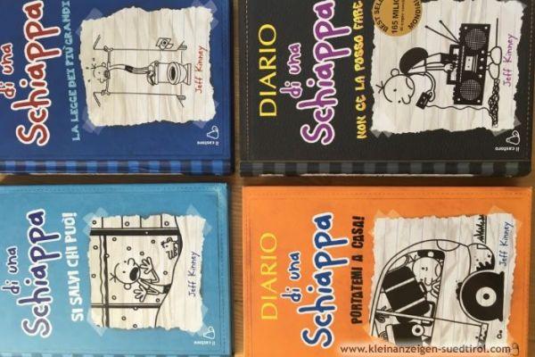 """Bücher """"Diario di una schiappa"""" (Greg's Tagebuch)"""
