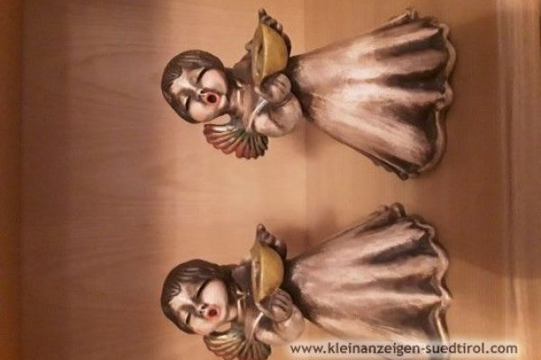 Zwei alte Thun Engel mit einer Höhe von 21cm 150€