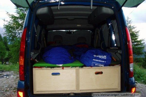 Kangoo-Camper-Set - Ihr Kangoo wird zum Camper