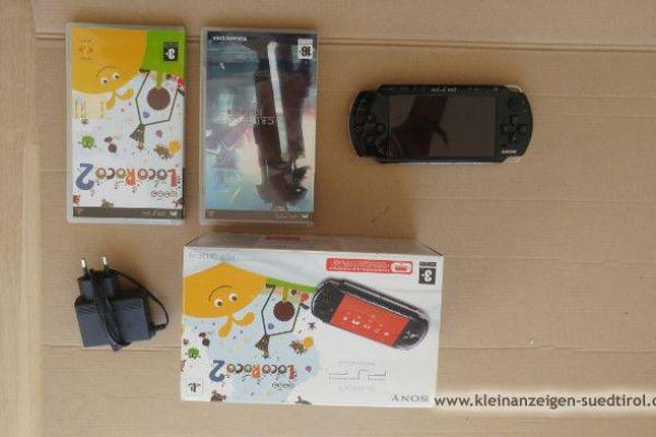 PSP Slim/Lite [3004] + 2 Spiele 99€