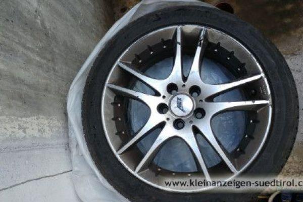 Felgen samt Sommerreifen(16) //VW Polo GTI