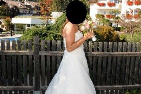 Hochzeitskleid Gr. 38 €690,00