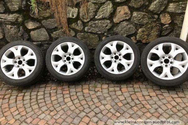 Dunlop Sommerreifen mit Felgen für BMW X3