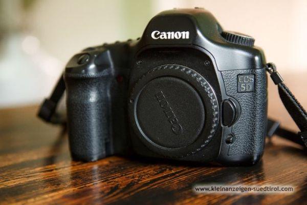Canon 5D digitale Spiegelreflexkamera Vollformat
