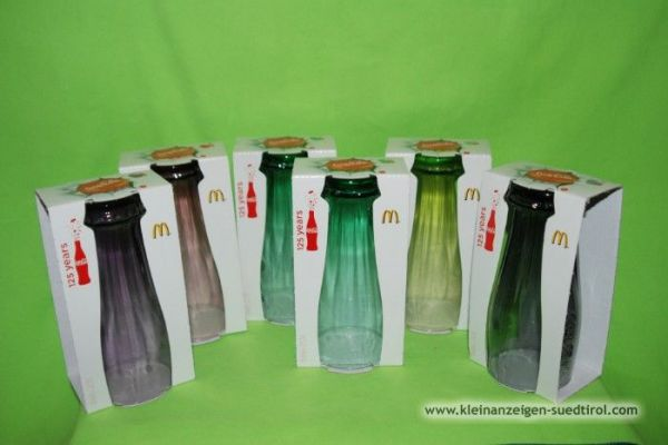 Coca-Cola Glässer von MC Donalds