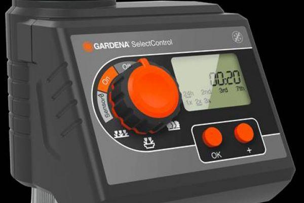 GARDENA Bewässerungscomputer mit Bodenfeuchtesensor
