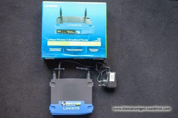 Wireless Router Linksys WRT54GL, 2.4 GHz