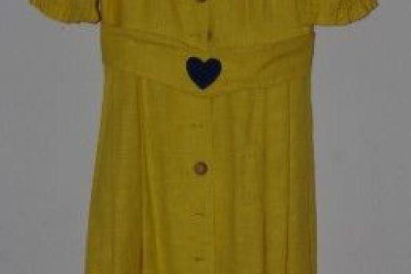 Trachtenkleid gelb