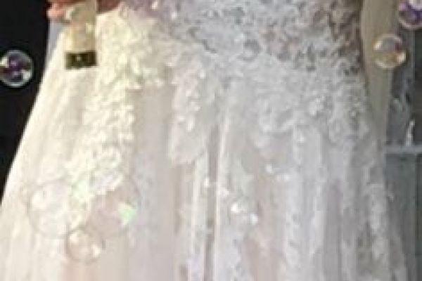 Verkaufe wunderschönes Hochzeitskleid