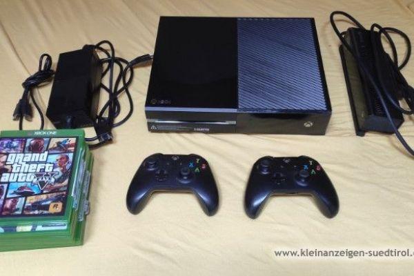 Xbox One mit 2 Schaltern und 7 Spielen 190€